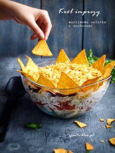 """Sałatka """"Król imprezy"""" – Zjem to! Tortellini, Coleslaw, Salads, Dairy, Cheese, Blog, Posts, Messages, Coleslaw Salad"""