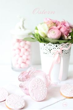 Enter into my albums and let your heart to relax for a moment ♥ LIKE & PIn Easter Table Decorations, Easter Decor, Easter Colors, Egg Decorating, Easter Wreaths, Spring Flowers, Happy Easter, Easter Eggs, Easter Baby