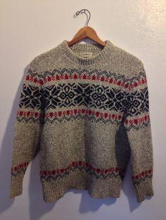 $30 L.L. Bean Ski Sweater