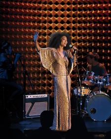 This gold-beaded sheath from Kleinfeld Bridal will make you look like a singing sensation—and feel as if you just won a grammy. Take it from Judith Hill who wore it for our Fall 2014 Fashion shoot.