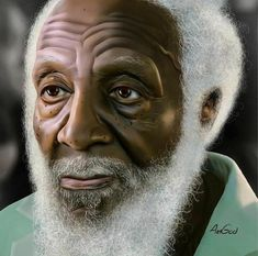 """Black Art- Richard Claxton Gregory (October 1932 – August R.P 💖🕊🕊"""" Dick"""" Gregory American Art, African, Black Art, Black History, My Black Is Beautiful, Female Art, Black Culture, Black Artists, Art Pictures"""
