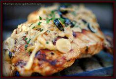 pechuga de pavo con queso roquefort y aceitunas negras tererecetas las recetas de tere 06