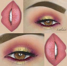 Cute eye make up Makeup Goals, Makeup Inspo, Makeup Art, Makeup Inspiration, Makeup Tips, Makeup Ideas, Makeup Quiz, Makeup Blog, Makeup Tutorials