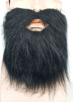 costume accessory: beard van dyke | black Case of 3