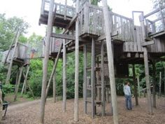 Vondelpark treehouse playground: Carve Amsterdam with kids Travel With Kids, Family Travel, Amsterdam With Kids, Play Equipment, Historical Landmarks, Kids Play Area, Play Houses, Installation Art