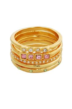 Erica Anenberg  Palace Stackable Ring Set @Hautelook