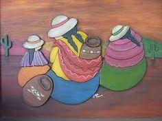 Resultado de imagen para dibujos coyas para pintar Peruvian Art, South American Art, Inca Tattoo, Desert Art, Cactus, Southwest Art, Mexican Folk Art, Tole Painting, Face Art