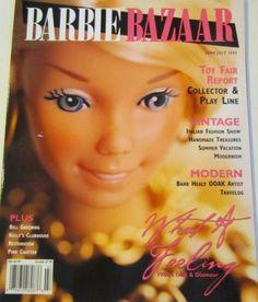 June/July 2005 Mattel Dolls, Collector Dolls, Girly Girl, Magazine Covers, June, Friends, Modern, Ebay, Beautiful