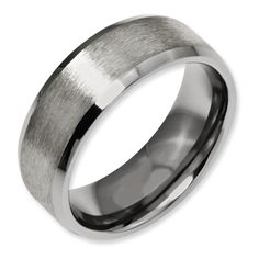 Mens Titanium Wedding Band 13