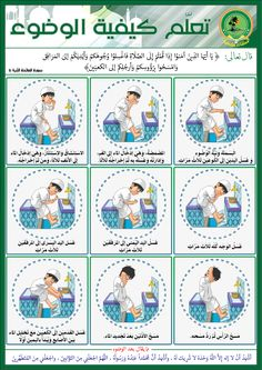 Muslim Religion, Learn Arabic Alphabet, Bon Point, Islam For Kids, Arabic Lessons, Science Projects For Kids, Islamic Studies, German Language Learning, Learn English Words