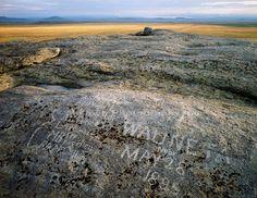 Independence Rock, Oregon Trail, Wyoming