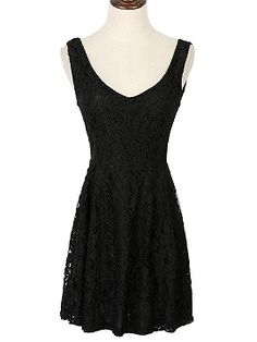 Shop Black Backless Sleeveless Lace Mini Dress from choies.com .Free shipping Worldwide.$24.9