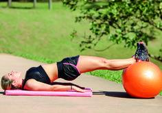 Bumbum durinho e core firme com um único exercício