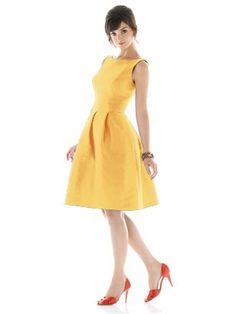 yellow + mad men style = must have