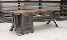 industrial office desks. ENGINEERING DESK STEEL VINTAGE Industrial Office Desks I