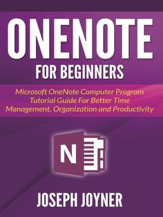 OneNote For Beginners cover