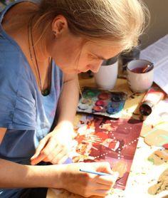 Finnish artist Niina Lehtonen Braun