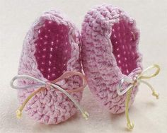 Baby Ballet Slippers ....I made these with a hot pink sole and black white stripes on sides and top with a hot pink ribbon! they turned out ADORABLE <3