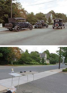 Miniature Car Models Create Realistic Historical Photos