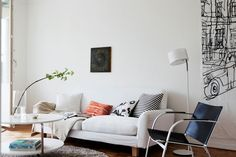 . of paper and things .: dwell   apartment in malmö