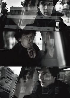 Car scenes with Sherlock. #sherlock #cinematography