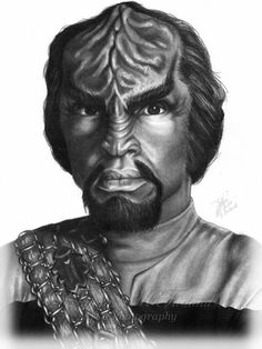 UPDATE: Star Trek's Worf by ~Elvandia on deviantART