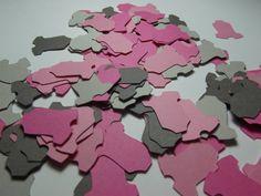 Onesie Die Cut Confetti ~ Baby Shower Party Decoration, 300 pieces, Table Decor. Onesie Die Cut, Onesie Cut Outs, Onesie Baby Shower