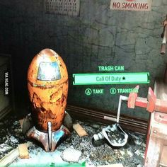 Great Call of Duty easter egg in Fallout 4