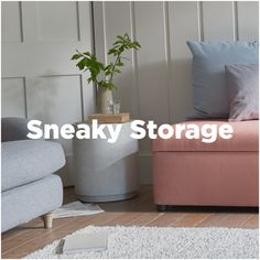Handy upholstered and wooden storage ottomans and other nifty pieces for the hall, bedroom and living spaces. Gorgeous Fabrics, Nifty, Living Spaces, Ottoman, Storage, Purse Storage, Larger, Store