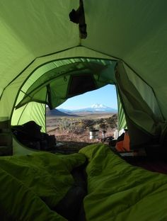 Who wants to go spend a few days in a tent?