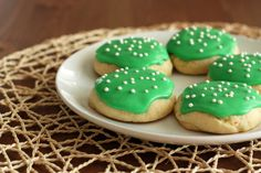 Fluffy Frosted Sugar Cookies. Like Lofthouse cookies from the grocery bakery only better!