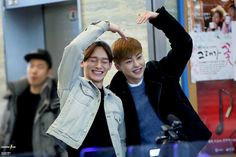 Xiumin and Chen ♡
