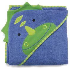 Toalha de banho dinossauro com capuz Skip Hop
