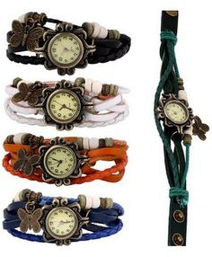 set of 5 watches under ten bucks for the whole set! That is a great deal on watches. Accessories, back to school. fashion