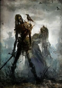 Nemorți - Thought to be vaguely similar to zombies and draugr, virtually nothing is known about these obscure Romanian undead. They are said to be the reanimated remains of those who have died within a particular vicinity, that are under the spell of a powerful dark magic user. While under this enchantment, they act as powerful soldiers.