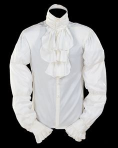 Singer's white ruffled shirt and black-and-white, leather-sleeved blazer from 1984 film both far exceed pre-auction estimates