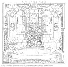"The New ""Game Of Thrones"" Coloring Book"