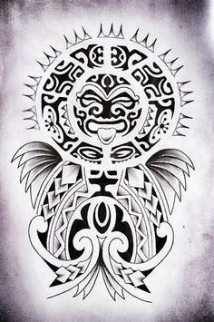 #maori #tattoo #tatuajes #diseño #sketch