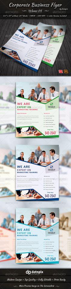 Corporate Business Flyer | Volume 5
