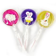 Gertrude Hawk Chocolates - Easter Lollipals - 3 Pack
