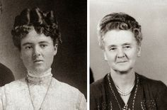 THEN AND NOW... http://www.chapter-two.net/2014/05/the-before-and-after.html #mothersday #grandmothers