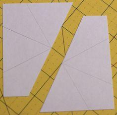 Papel Fundación Pieced Kaleidoscope Bloquear Tutorial por Pitter Putter Stitch, a través de Flickr
