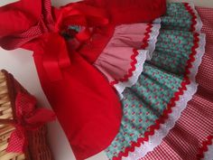 Vestido - Chapeuzinho Vermelho R$ 280,00