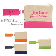 #298 Canvas Coin Pouch