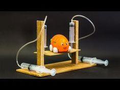 School Science Projects Hydraulic Lift - YouTube