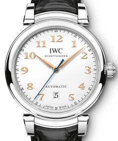 2017 is the year to reimagine the Da Vinci line and IWC went back to the roots on their automatic pieces, starting with the round case and much more. Explore the new collection in the release covered by our very own Patrick Kansa.  Read all about it at: http://www.ablogtowatch.com/iwc-da-vinci-automatic-watch-2017/