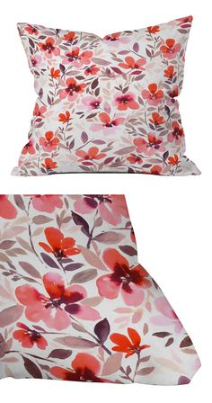 If you've been looking for that perfect fit for your patio ensemble, you've just found it. Made from woven polyester fabric, this throw pillow is excellent for indoor and outdoor use. All you need is a...  Find the Spring Field Outdoor Throw Pillow, as seen in the Outdoor Pillow Sale  Collection at http://dotandbo.com/collections/outdoor-pillow-sale-2016?utm_source=pinterest&utm_medium=organic&db_sku=119460