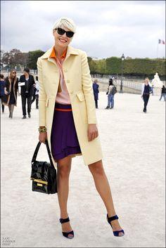 Elisa Nalin - Fashion Week - Paris