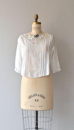 Darlington blouse vintage 1910s Edwardian blouse by DearGolden