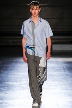 Wooyoungmi: menswear spring/summer 2015